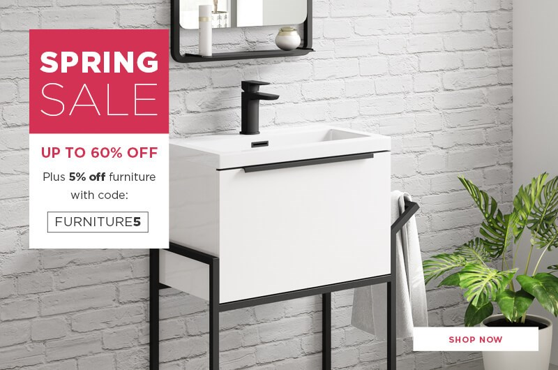 Spring Sale Furniture Discount Code - Homepage Banner