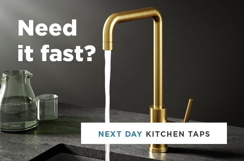 Next Day Kitchen Taps - Secondary Homepage Banner