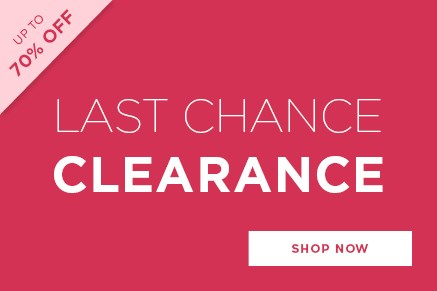 Last Chance Clearance - See all Clearance