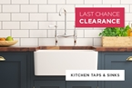 Kitchen Taps Clearance Sale
