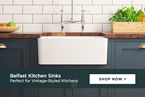 Belfast Kitchen Sinks: perfect for any farmhouse or vintage-styled kitchen
