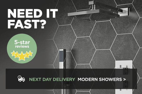 next day modern showers