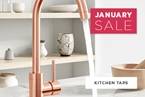 Kitchen Taps January Sale