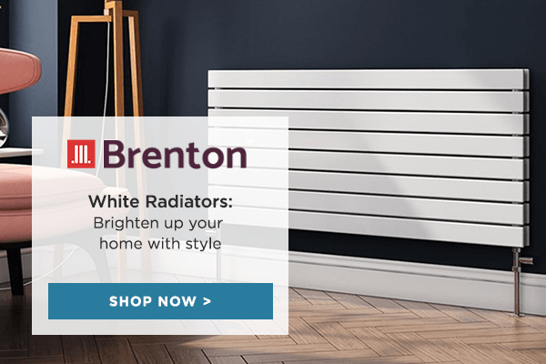 Brighten your home with Brenton White Radiators