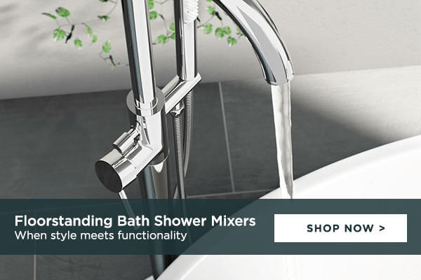 Floorstanding Bath Shower Mixers: when style meets functionality