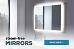 Steam-Free or Demister Bathroom Mirrors
