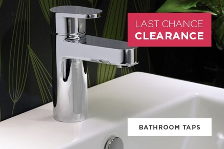 Bathroom Taps - Last Chance Clearance