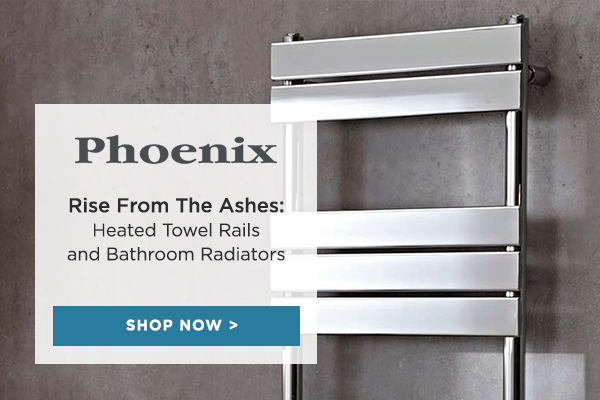 Heat it up with Phoenix Bathroom Radiators