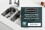 Undermount Sinks: minimalist effect & seamless functionality