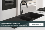 Reginox Ego Collection:  the perfect balance between quality, design & price