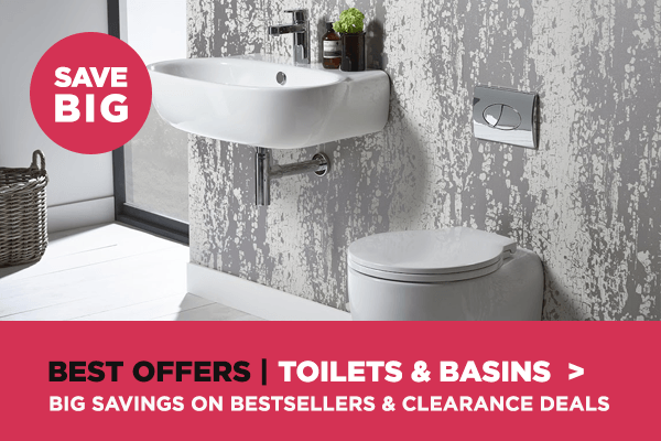 toilets and basins sale deals