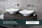 Countertop Basins: the new kids on the block