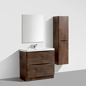 Dark Wood Bathroom Furniture