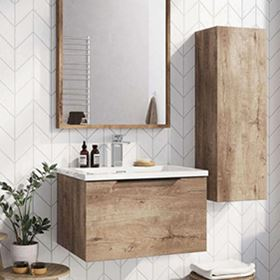 Light Wood Bathroom Furniture
