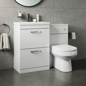 Combined Basin & Toilet Furniture