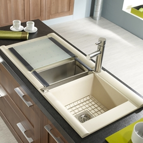 Beige Kitchen Sinks