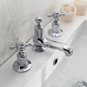 Crosswater Belgravia Crosshead Bathroom Taps