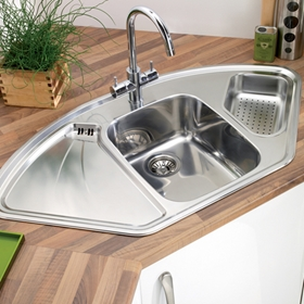Corner Kitchen Sinks