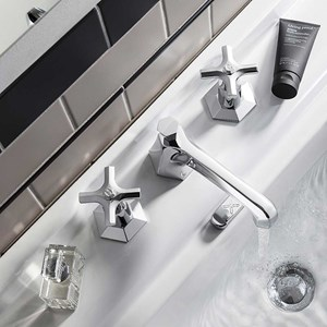 Crosswater Waldorf Crosshead Bathroom Taps