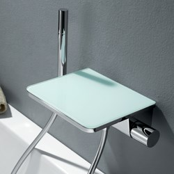 Flova Annecy Glass Bathroom Taps