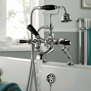 Hudson Reed Black Topaz Bathroom Taps
