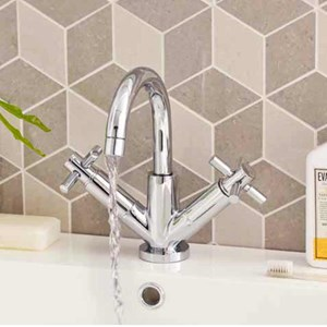 Hudson Reed Tec Crosshead Bathroom Taps