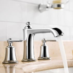Flova Liberty Chrome Bathroom Taps
