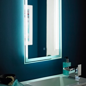 Fluorescent Bathroom Mirrors