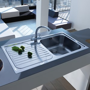 Metallic Kitchen Sinks
