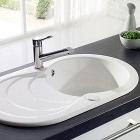 One Bowl Kitchen Sinks