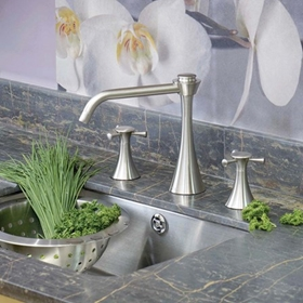 Nickel Kitchen Taps
