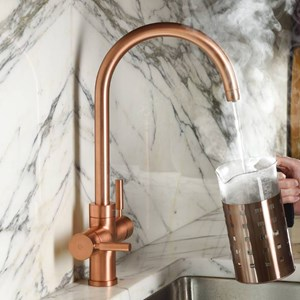 Copper & Rose Gold Kitchen Taps
