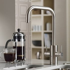 Brushed Finish Kitchen Taps