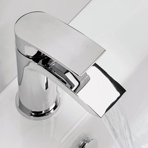 Vellamo Tiera Waterfall Bathroom Taps