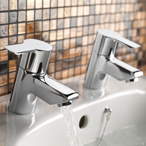 Tre Mercati Angle Bathroom Taps