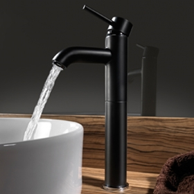 Tre Mercati Milan Black Bathroom Taps