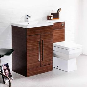 Vellamo Basin & WC Furniture Sets