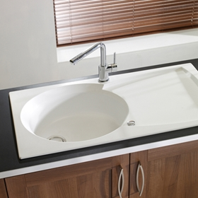 White Kitchen Sinks