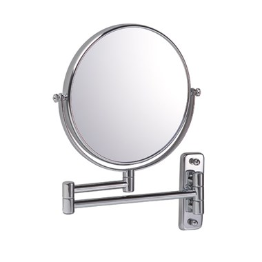 Bathroom Origins Reversible Magnifying Bathroom Wall Mirror