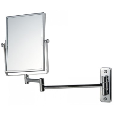 Bathroom Origins Reversible Square Frame Magnifying Wall Mirror