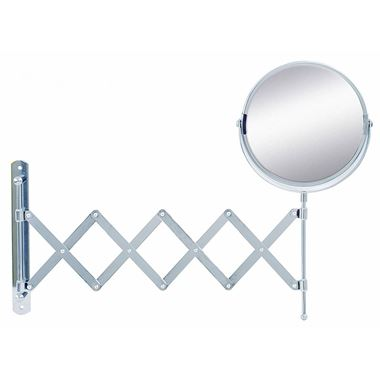 Bathroom Origins Reversible & Extendable Magnifying Wall Mirror