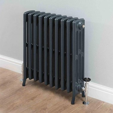 Butler & Rose Darcy 4 Column Cast Iron Radiator - 660 x 628mm
