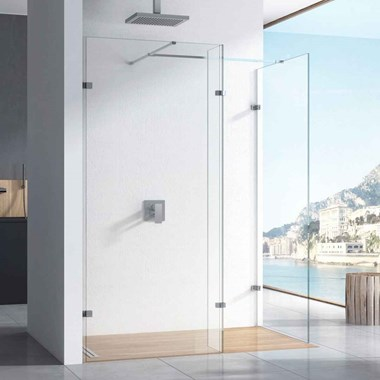 Harbour i10 10mm 2m-Tall Easy Clean No-Profile Wetroom Panel