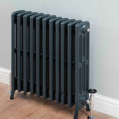 Butler & Rose Darcy 4 Column Cast Iron Radiator - 760 x 688mm