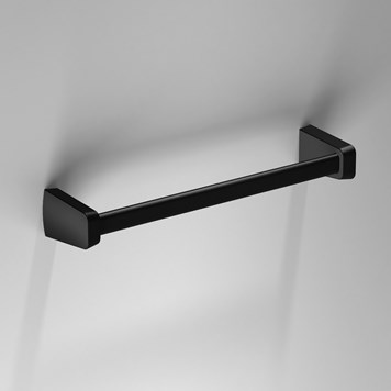 Sonia S6 Black Towel Rail - 320mm