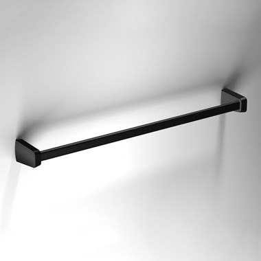 Sonia S6 Black Towel Rail - 560mm