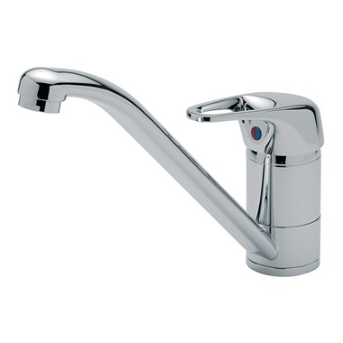 Modena Mono Sink Mixer With Cut-out Handle , Chrome Plated
