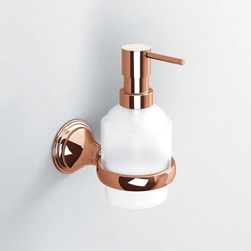 Sonia Genoa Rose Gold Soap Dispenser