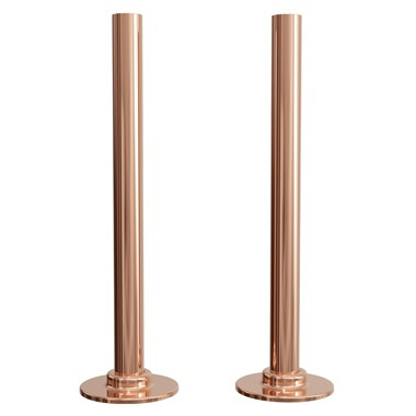Brenton Rose Gold 180mm Tube with Plates