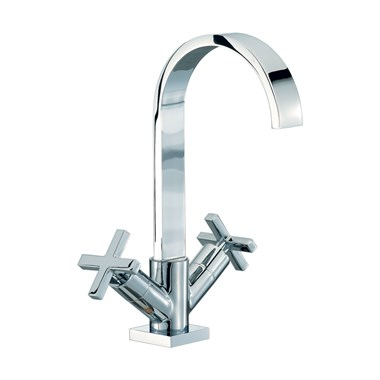 Mayfair Surf Mono Basin Mixer with Pop-Up Waste